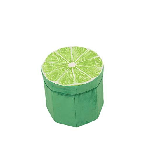 ColorJoy Fruit Tabouret De Rangement Pliable Rangement Cube Tabouret De Siège Pliable Boîte De Rangement Tabouret Tabouret Pliant Conteneur De Tabouret Conteneur De Tabouret