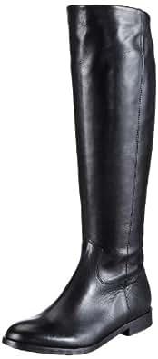 Kennel und Schmenger Schuhmanufaktur Stone, Damen Langschaft Stiefel, Schwarz (schwarz), 36 EU (3.5 Damen UK)