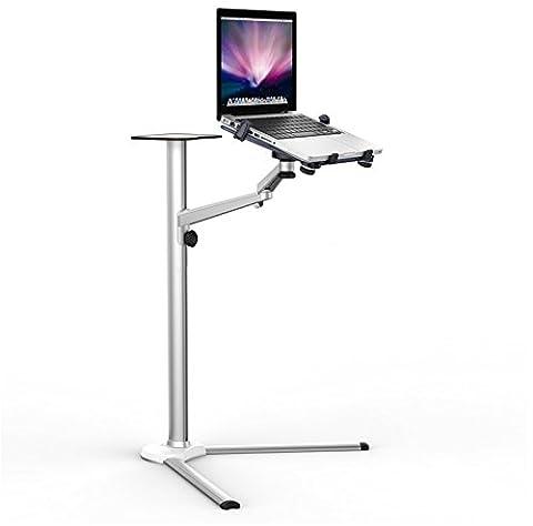 Universel en aluminium pour ordinateur portable tablette Multi Fonction support bras pivotant et inclinable Support