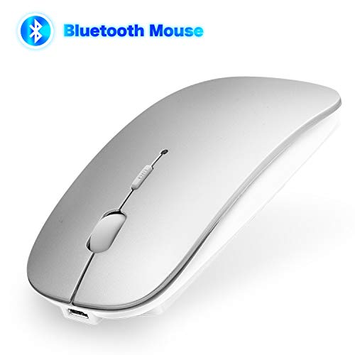 aus 4.0 Kabellose Maus für MacBook Pro/Air, iMac, Windows/Android PC, Laptop, Computer mit DPI Einstellbare Wiederaufladbare Maus Kompakt Leise ()