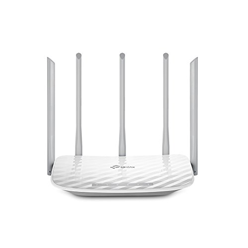 TP-Link Archer C60 - Router inalámbrico Dual-Band AC1350 (WPS, Control parental, Red de invitados)
