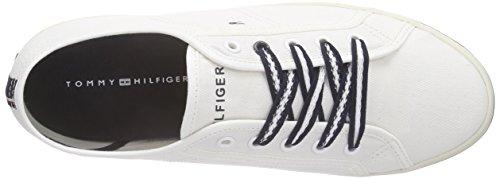 Tommy Hilfiger Damen V1285ictoria 2d Sneakers Weiß (SNOW WHITE 118)