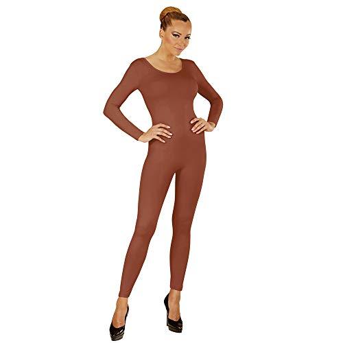 Widmann 04575 Langer Body für Damen, Hautfarben, S/M