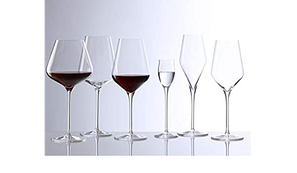 d9bbd19b956 Buy Stölzle Lausitz Bordeaux Red Wine Goblets Quatrophil 644 Ml On Par  with Mouth B Online at Low Prices in India - Amazon.in