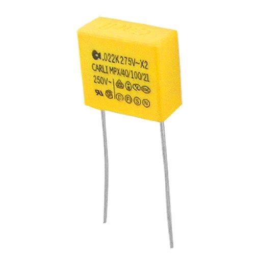 1000.022uF 22nF 250V 10% Polypropylen Sicherheit Kondensator MPX - Spannung Polypropylen Kondensator