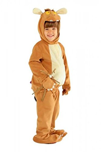 Costume Gruffalo Enfant de : 2 pièces pour enfant avec capuche et Pantalon &/pieds (3-5 ()