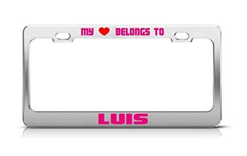 MY HEART BELONGS TO LUIS Male Boy Names License