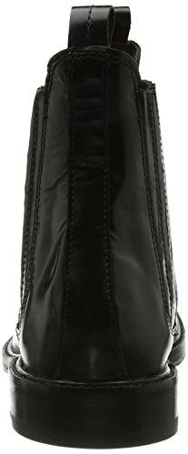 Hudson Tafler, Bottes Chelsea courtes, doublure froide femme Noir - Noir