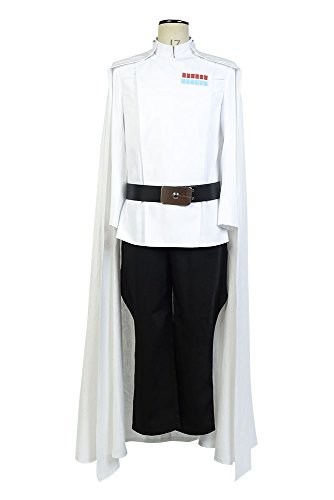 rs Story Top Director Krennic Officer Uniform Cosplay Kostüm Herren XL ()