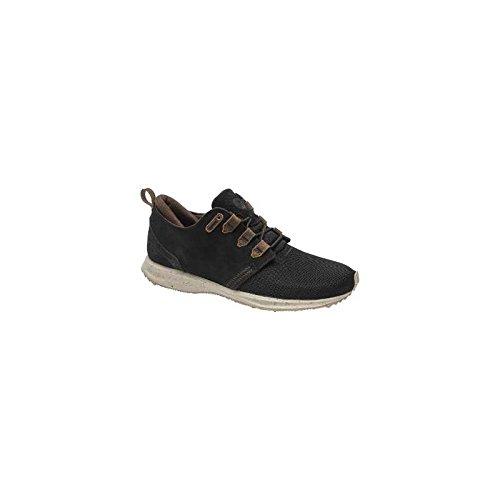 Element Mitake Mens Leather & Mesh Shoes Black - 42 EU
