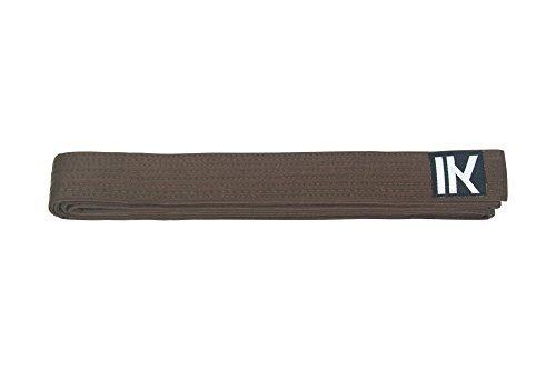 Kampfsportgürtel Budogürtel | Alle Farben und Größen (Braun, 280cm) -