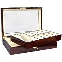 Uhrenkoffer Holz: für 12 Uhren