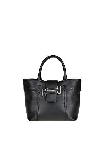 Tod's Damen Mcglbre000006020i Schwarz Leder Handtaschen