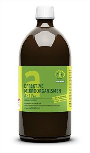 Effektive Mikroorganismen Aktiv (EM-Aktiv), Bodenhilfsstoff - Dünger