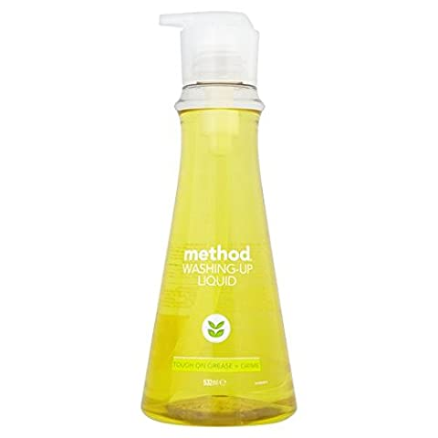 Method Washing Up Liquid Lemon And Mint 532Ml