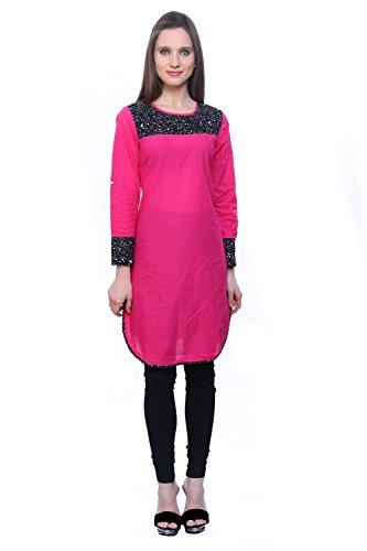 Kurti's Women /Girls Kurtis/Kurti for Girls/Casual Kurti/Formal Kurti/In 3/4 Sleeve Cotton Short Kurtas