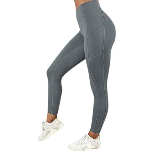 MEIbax Leggings Deportes Pantalones mujeres color