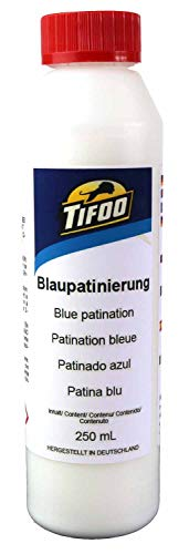 Blaupatinierung, Kupfer, Bronze, Messing patinieren, Patina 250 mL -