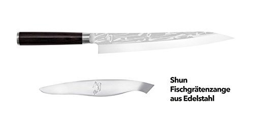 KAI Set SHUN PRO SHO Yanagiba 24 cm + Fischgrätenzange