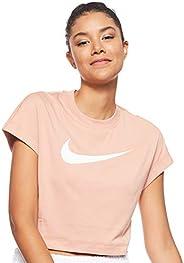 Nike Women's Sportswear Swsh Top Crop Ss T-S