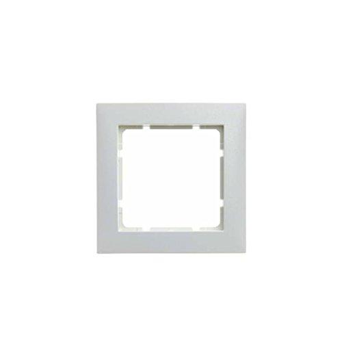 Hager S1 BERK Rahmen 10119909 1fach polarweiss matt