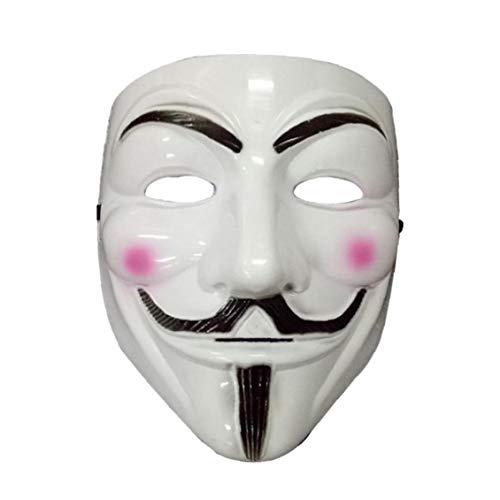 Beito Masken-Party-V Für Vendetta-Maske Vollgesichtsmaske Anonymous Guy Fawkes Halloween-Maskerade-Partei-Gesicht Für Partei