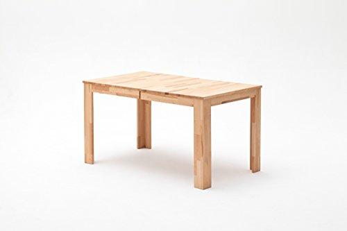 Tisch, Esstisch, Esszimmertisch, Küchentisch, Massivholztisch, ausziehbar, Ausziehtisch, Kernbuche, Mittelauszug, rechteckig