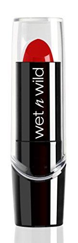 Wet n Wild - Silk Finish Lipstick- Pflegender Lippenstift mit Aloe Vera und Vitamine A und E, Hot Red, 1 Stk. 20g - Wet N Wild-vitamine