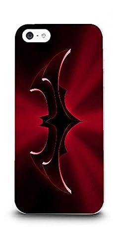 iPhone 5/5s Batman Handyhülle / Hülle für Apple iPhone 5s 5 SE / Displayschutzfolie & Stoff / iCHOOSE / Batman &