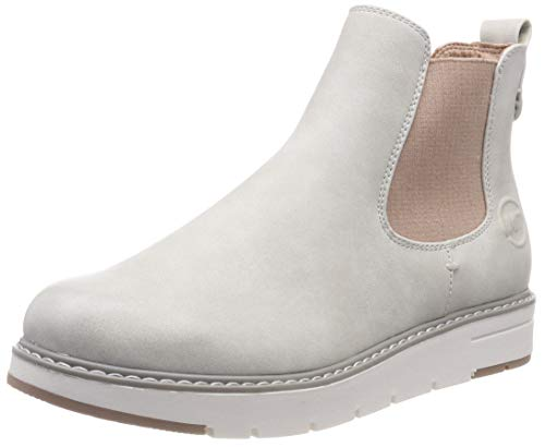 MARCO TOZZI Damen 25494-21 Chelsea Boots, Weiß (Ice Comb 119), 39 EU