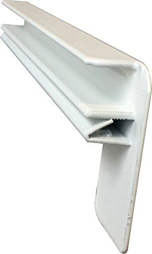 Fensterbank Putz Seitenteile 130 mm in Weiß
