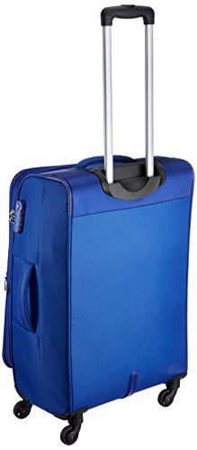 0e1fac0a42d 50% OFF on American Tourister Z-strike Polyester 68 cms Royal Blue  Softsided Check