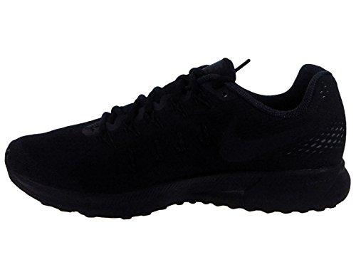 Nike Herren Air Zoom Pegasus 33 Laufschuhe Black (Schwarz / Schwarz-Anthrazit-Dunkelgrau)
