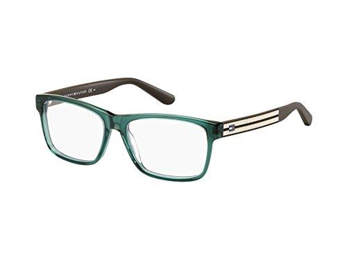 Tommy Hilfiger Unisex-Erwachsene TH 1237 1I8 54 Sonnenbrille, Braun (Green Brown),
