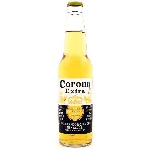 Cerveza Corona Extra Caja de 24 bottellas x 0,355 lt.