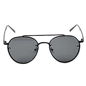 Anti-Reflex-UV400 Aufmaß Gläser Bunte Ozean-Brille Objektiv Sonnenbrillen Legierung Rahmen Mode stilvolle Brillen