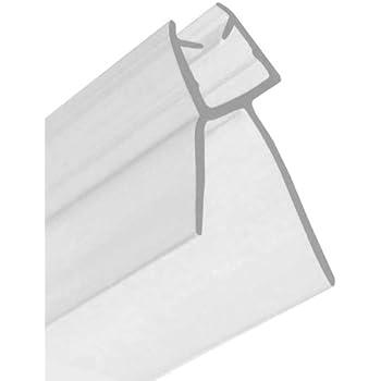 Daka joint de bas de porte de douche en verre de 4 6 mm d 39 paisseur bricolage - Joint porte de douche en verre ...