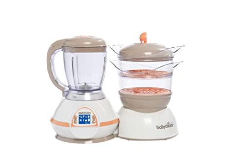 Babymoov Cuiseur & Mixeur Nutribaby Abricot/ Taupe