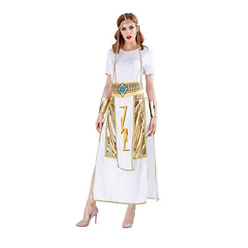 FGDJTYYJ König Königin Cosplay Kostüm, Gott des Krieges Paar Alten ägyptischen Pharao Kostüm Film Cosplay - Der König Und Ich Kostüm