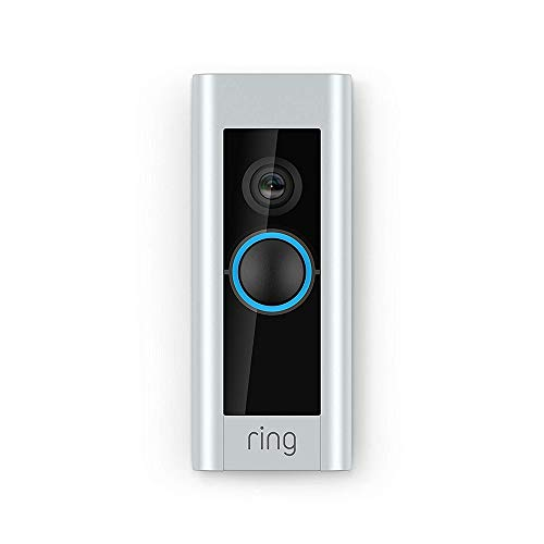Ring Video Doorbell Pro | Kit with Chime and Transformer, 1080p HD, Two-Way Talk, Wi-Fi, Motion Detection (Assorted Colours)
