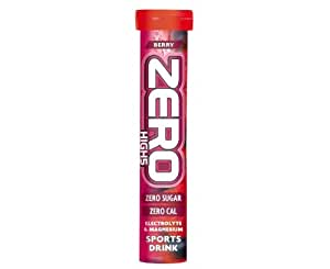 HIGH5 Zero Active Hydration Drink Tabs - 20 Tablet Tube, Pink Grapefruit