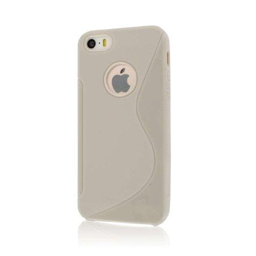 MPERO FLEX S Series Schutz Case Tasche Hülle for Apple iPhone 5 / 5S - Light Grau