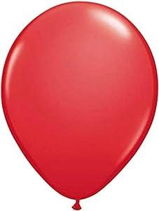 falksson Metallic Globos Globos de la Fiesta Decoración 10Pieza Rojo 30cm un