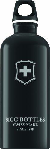sigg-swiss-emblem-cantimplora-diseo-con-la-bandera-de-suiza-negro-negro-talla06l