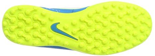 Nike Mercurialx Vortex Iii Njr Tf, Chaussures de Football Homme Turquoise (Blue Orbit/white/blue Orbit/armory Navy/volt/volt)