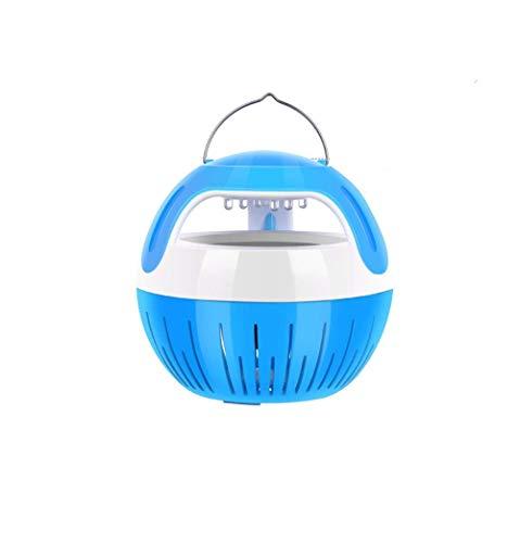 Lámpara Antimosquitos Asesino de mosquitos USB - Asesino silencioso portátil de múltiples funciones, sin radiación 'Inhalador materno e infantil para matar mosquitos No Tóxicos, Sin Radiación