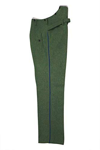 militaryharbor WW2 WWII German Heer Officer Medical Waffenrock Field Grey Wool Dress Pants - - 36 - Us Fallschirmjäger Kostüm