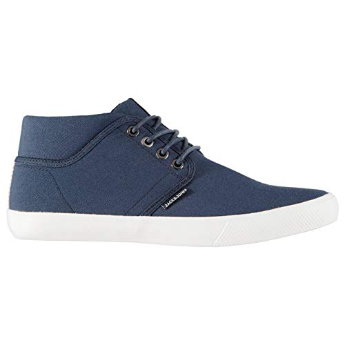 Jack and Jones Hombre Vince Mid Top Zapatillas Deportivas Azul Marino Blazer EU 39 UK 6