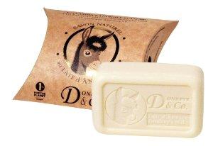Jabón orgánico a la leche de burra 100g