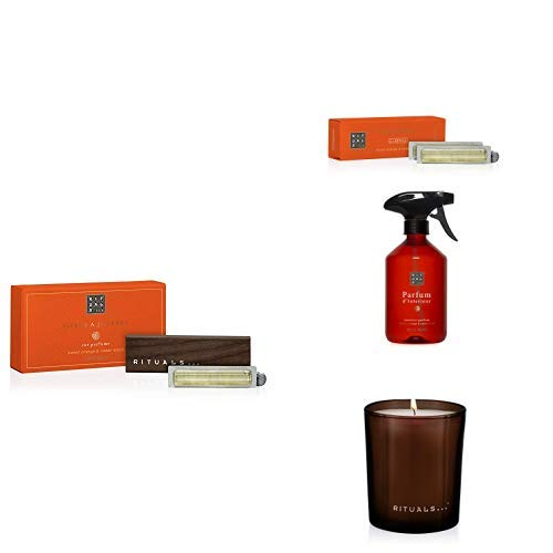 RITUALS Life is a Journey - Happy Buddha Car Perfume + Life is a Journey - Refill Happy Buddha Car Perfume + The Ritual of Happy Buddha Parfum d\'Interieur + The Ritual of Happy Buddha Scented Candle